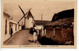 L'Aiguillon Sur Mer : Un Joli Coin (Moulin) - Other Municipalities