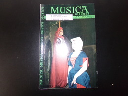 """Revue """" Musica """" 46 Pages, N°60 Mars 1959, Critique De Jazz, J.Brumaire Et G. Vaillant ... - Música"""