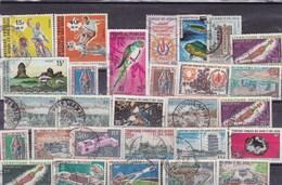 AFARS Et ISSAS: Y&T : Lot De 28 Timbres Oblitérés - Afars Et Issas (1967-1977)