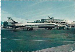 Avion Aéroport De NICE CARAVELLE D' AIR FRANCE - 1946-....: Ere Moderne