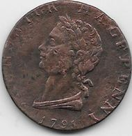 Grande Bretagne  - Half Penny 1794 - Cuivre - Grossbritannien