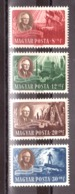 Hongrie - 1947 - N° 879 à 882 - Neufs * - Président Roosevelt - Ungarn