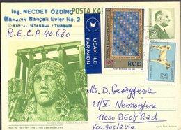 TURKEY - POST CARD - MUSEUM - ZEUS MABEDI KUTAHYA - 1972 - Museen