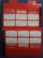 2018. CALENDARIO TAMAÑO MEDIANO. CCOO 2018. - Calendars