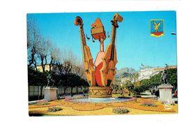 Cpm - MENTON - Fête DU CITRON - 1973 - Boite à Musique Clé Forme Cœur Violon Lettres Alphabet - Música Y Músicos