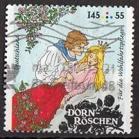 Germania 2015 Mi. 3134 Favole : DORN-ROSCHEN - Bella Addormentata Grimm Used Deutschland Germany - Fiabe, Racconti Popolari & Leggende