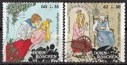 Germania 2015 Mi. 3134-3136 Favole : DORN-ROSCHEN - Bella Addormentata Grimm Used Deutschland Germany - Fiabe, Racconti Popolari & Leggende