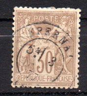 Lot 1 Timbre(s) - N° 69- Oblitéré - Sage  - France - 1876-1878 Sage (Type I)