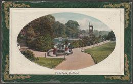 Firth Park, Sheffield, Yorkshire, C.1905 - Robert Sneath Postcard - Sheffield