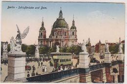Deutschland,DEUTSCHES,ALLEMAGNE,BERLIN,SCHLOBbruck   E  Und  Dom,ange,bus à étage,rare - Unclassified