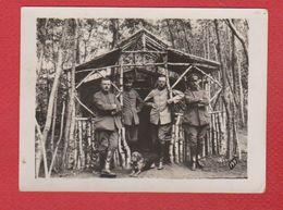 Photo --  Waldlager à Orcomte  -- 1918 - France