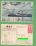 Dirigibili Idrovolanti Navi NGI Navigazione Italiana Soc. Florio Rubattino E Lloyd Navires Ships - Dirigibili