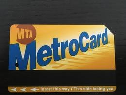 Ticket De Métro New York - Europe