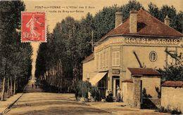 PONT SUR YONNE     HOTEL DES 3 ROIS   ROUTE DE BRAY SUR SEINE     CARTE TOILEE - Pont Sur Yonne