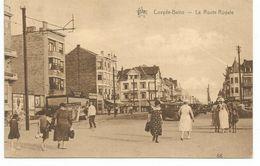COXYDE- BAINS - LA ROUTE ROYALE - STAR - 86 - 1936 - Koksijde