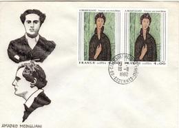 F+ Frankreich 1980 Mi 2227 Amedeo Modigliani (UNIKAT / ÙNICO / PIÉCE UNIQUE) - France