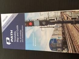 Transit Map New York City - New Jersey - PATH 2018 - Subway Bus Tram - World