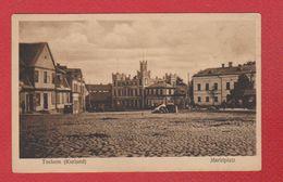 Tuckum ( Kurland)  - Marktplatz - Lettonie