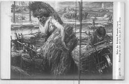 Salon Des Artistes Francais 1910 Ruisselage Du Lin Sur La Lys Par G.A. Grau - Tres Bon Etat - Ansichtskarten