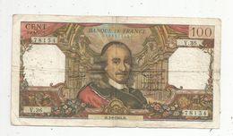 Billet , 100 Francs , CORNEILLE , 3-9-1964 , 2 Scans - 1962-1997 ''Francs''