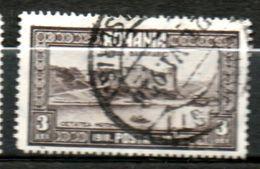 ROUMANIE  Fort D Hotin 1928 N°346 - 1918-1948 Ferdinand, Charles II & Michael