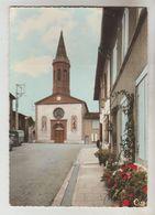 CPSM ALBIAS (Tarn Et Garonne) - L'Eglise Saint Georges - Albias