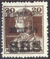 SLOVENIA - SHS - DOBROVNIK - PREKOMURJE - LOCAL ISSUE On KARL- **MNH- 1919 - Punc MW - Eslovenia