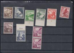 Dt. Reich  Mi 675-83 Postfrisch - Ungebraucht