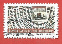 FRANCIA REPUBBLICA - 2011 - ARTE - Material From All Over The World - Egypt - 20 G. - Michel FR 5032I - France