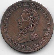 Espagne - Médaille - Cuivre - 1812 - Espagne