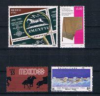 Mexiko Kleines Lot 4 Werte ** - Mexico