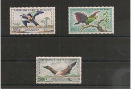 CENTRAFRIQUE Oiseaux ( Birds) : P.A. N° Y//T:  1/3** Côte: 22,00€++ - Central African Republic
