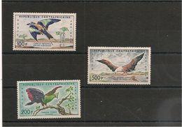 CENTRAFRIQUE Oiseaux ( Birds) : P.A. N° Y//T:  1/3* Côte: 22,00 € - Central African Republic