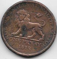Grande Bretagne - Penny - 1812 - 1662-1816 : Anciennes Frappes Fin XVII° - Début XIX° S.