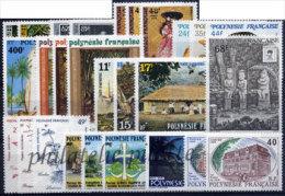 -Polynésie Année Complète 1988 - Années Complètes