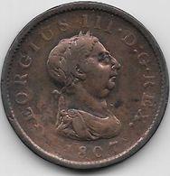 Grande Bretagne - Penny - 1807 - Sin Clasificación