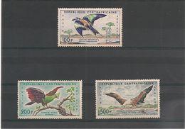 CENTRAFRIQUE Oiseaux ( Birds) : P.A. N° Y//T:  1/3*/** Côte: 22,00 €+ - Central African Republic