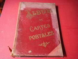 ALBUM CARTE POSTALE - Materiali