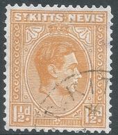 St Kitts-Nevis. 1938-50 KGVI. 1½d Used. SG 70 - St.Christopher-Nevis-Anguilla (...-1980)