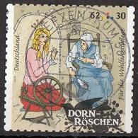 Germania 2015 Mi. 3136 Favole : DORN-ROSCHEN - Bella Addormentata Grimm Used Deutschland Germany - Fiabe, Racconti Popolari & Leggende