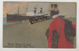 Red Star Line Antwerp-Dover-New-York - Paquebots