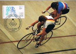 27940. Tarjeta Maxima BERLIN (Alemania Berlin) 1984. Ciclismo Sport - Ciclismo