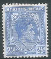 St Kitts-Nevis. 1938-50 KGVI. 2½d MH. SG 72a - St.Christopher-Nevis-Anguilla (...-1980)