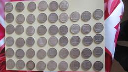 Lot De 51 Piéces Argent De 10 Francs TURIN - K. 10 Francs
