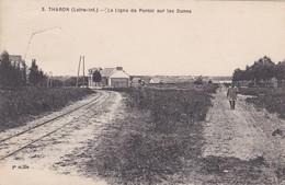 THARON - LA LIGNE DE PORNIC SUR LES DUNES - 44 - Tharon-Plage