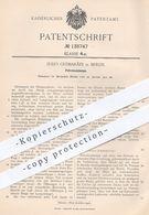 Original Patent - Julio Guimaraes , Berlin , 1901 , Petroleumlampe   Petroleum - Lampe   Brenner , Licht , Lampen !!! - Historische Dokumente
