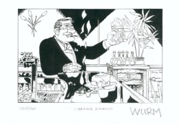 WURM : Exlibris Librairie DURANGO      (ns) - Ex-libris