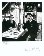 WURM : Exlibris Librairie MULTI BD      (ns) - Ex-libris