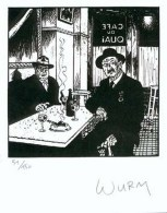 WURM : Exlibris Librairie MULTI BD      (ns) - Illustratoren W - Z