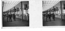 PP 09 - JEUX OLYMPIQUES DE MUNICH 1936 Village Olympique Hall De Réception Et D'informations - Glass Slides